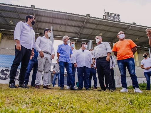Cícero garante reativação do Parque das Três Lagoas com raias de canoagem para eventos da modalidade