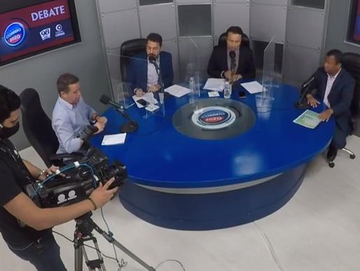 Debate da Radio Correio tem acirramento, ausência de Ricardo  e mais