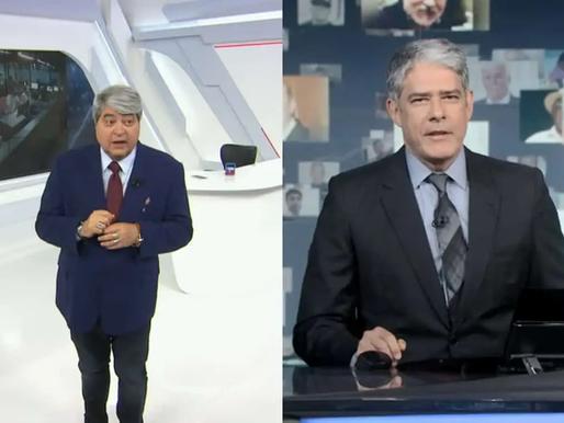 José Luis Datena defende William Bonner após ataque desequilibrado de Bolsonaro