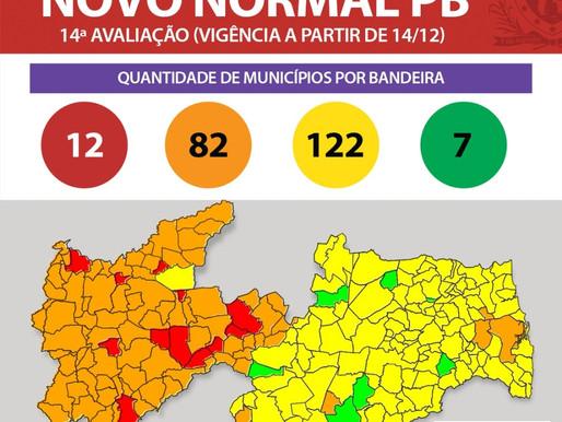 Covid 19: Após cinco meses,  municípios da Paraíba voltam a bandeira vermelha
