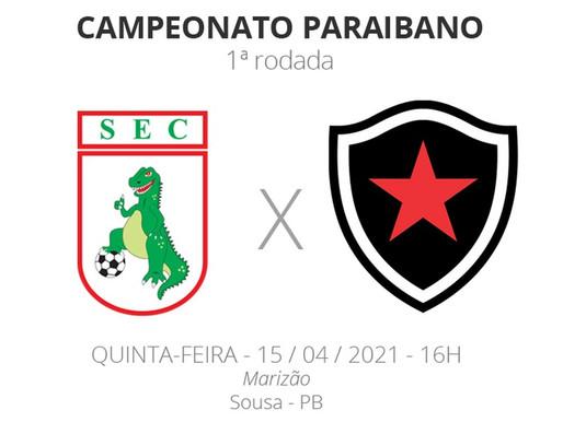 Botafogo faz a estreia no Paraibano contra o Sousa.