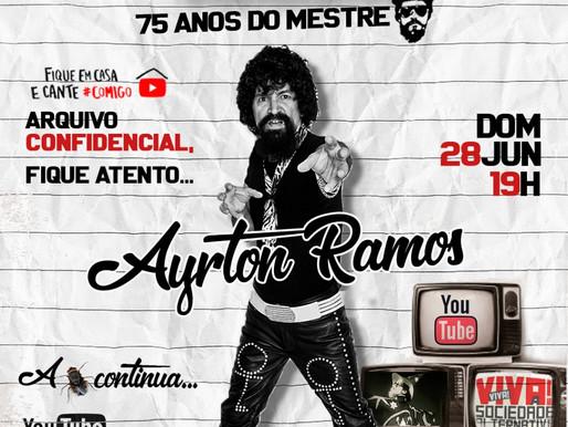 Raul Seixas: Live especial vai prestar homenagem aos 75 anos do Maluco Beleza