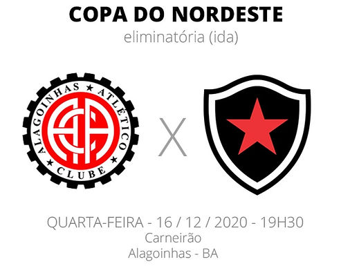Botafogo começa hoje a luta por vaga na Copa Nordeste