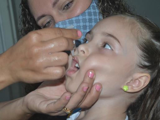 Segundo dia da multivacinação contra a Poliomielite acontece neste sábado em João Pessoa