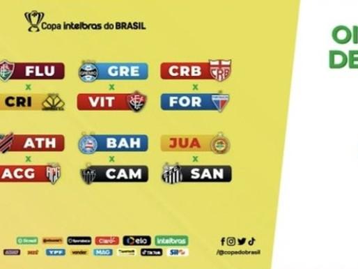 Copa do Brasil: Conheça os jogos das oitavas de final definidos nesta terça