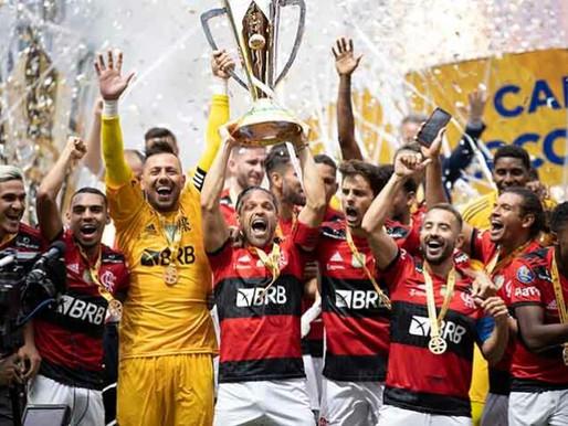 Flamengo vence Palmeiras nos Pênaltis e é campeão da Super Copa do Brasil