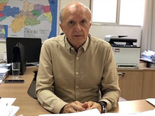 Secretário de saúde culpa flexibilização e permissão de eventos por alta da Covid-19 na Paraíba
