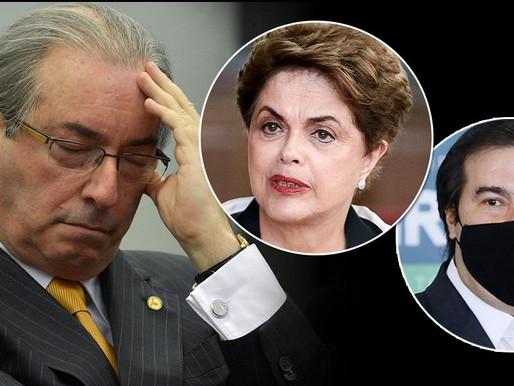 Livro de Eduardo Cunha revela  que golpe contra Dilma foi traçado no apartamento de Rodrigo Maia