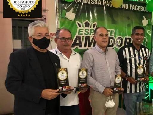 Premiação dos destaques do esporte amador marca o ano de 2020.