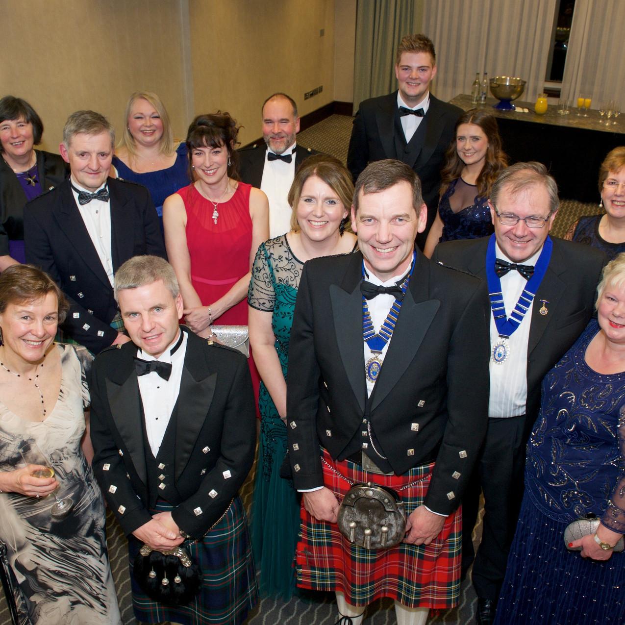 Glenammer Sponsored 2016 Institute of Quarrying Scottish Branch Dinner Dance