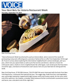 Your Best Bets for Astoria Restaurant Week