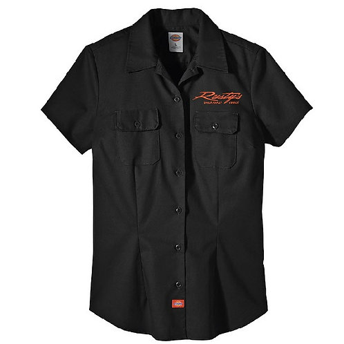 Ladies Dickies Button Up