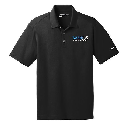 Mens Embroidered Nike Polo