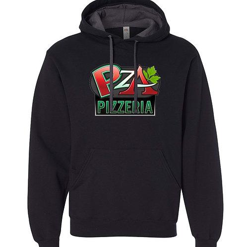 2 Tone Hooded Sweatshirt