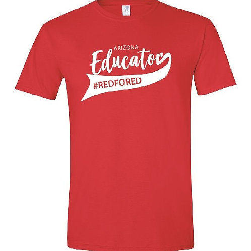 BB EDUCATOR Red Tee