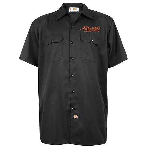 Mens Dickies Button Up