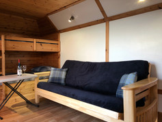 DOUBLE SOFA BED AND BUNK BEDS - OYSTER-CATCHER POD