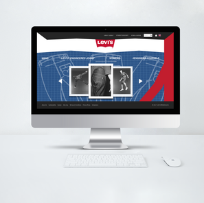 Levi's Engineered Jeans Microsite