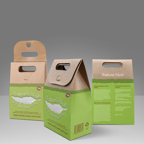 Feathered Friends Bird Food Packaging