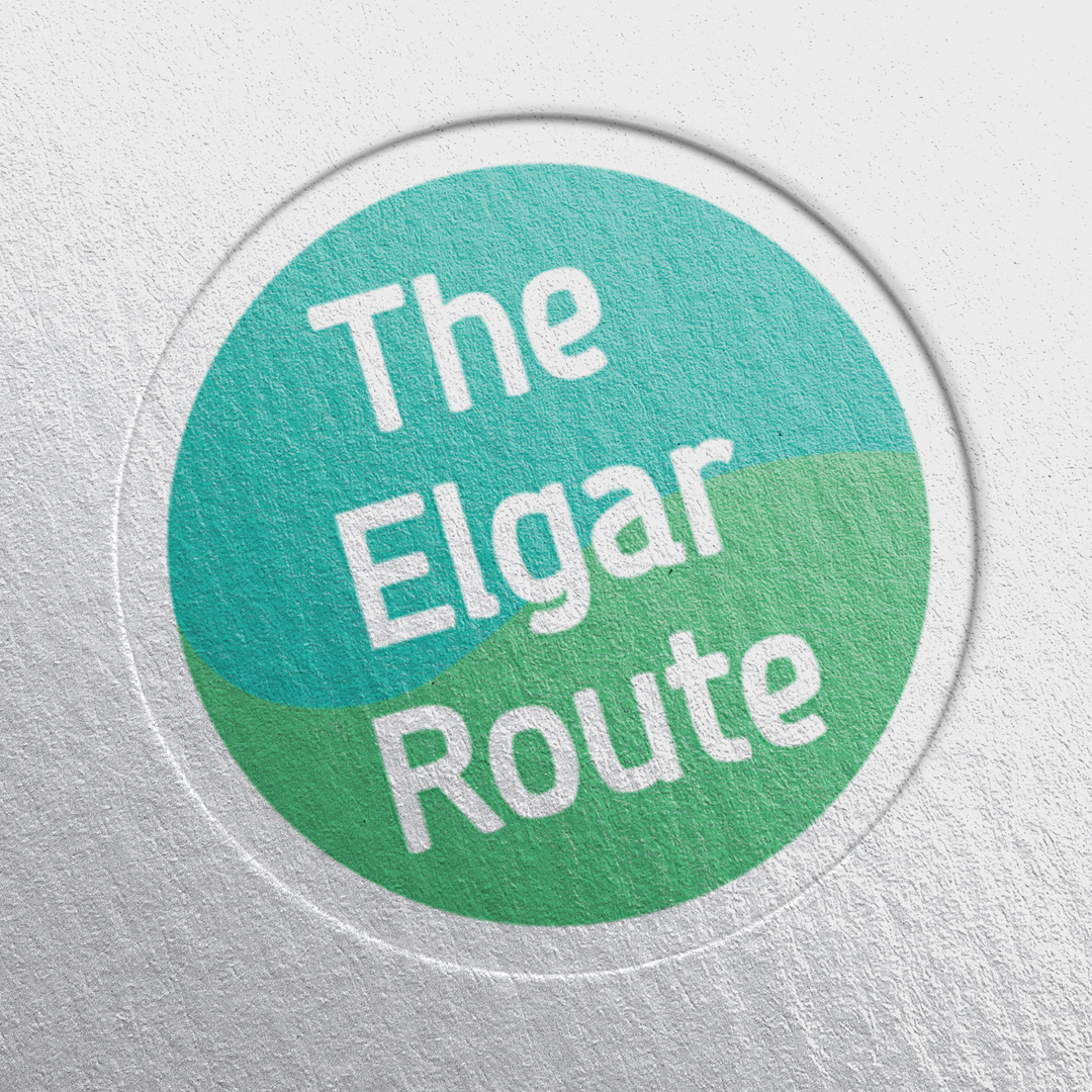 Paper Pressed The Elgar Route Logo Mocku