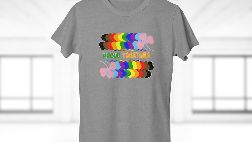 PROUD TOGETHER Single Jersey Women's T-shirt