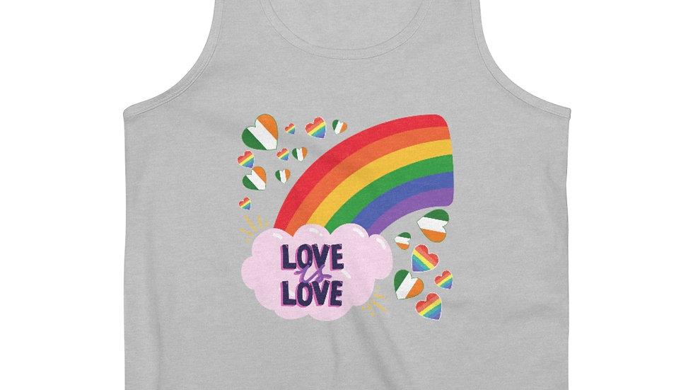LOVE IS LOVE RAINBOW (IRELAND) Men's Vest Top