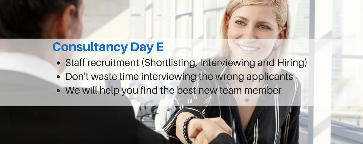 Consultancy Day E