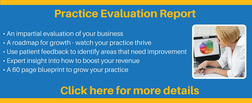 Dental Practice Evaluation for more patients