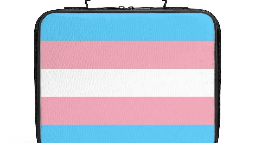 Trans Flag Lunch Box