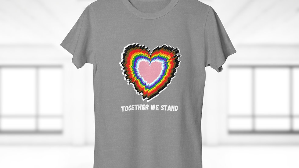 TOGETHER WE STAND (IRL) Single Jersey Women's T-shirt