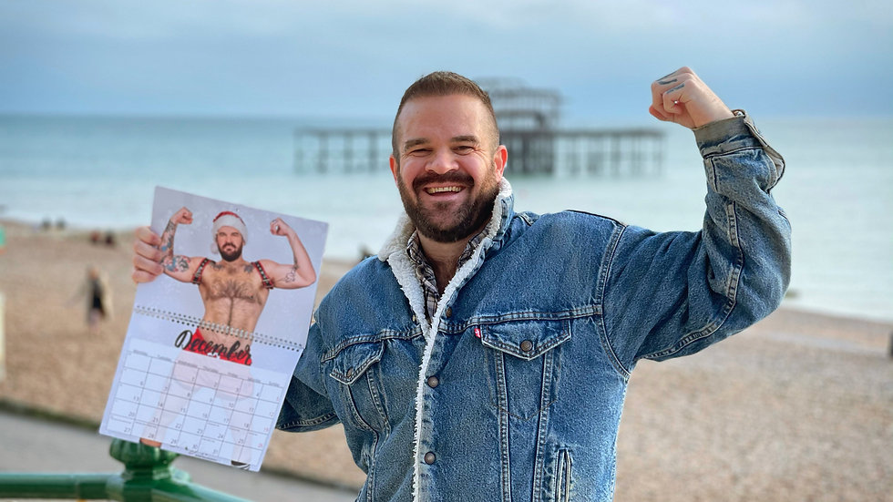 Dave The Bear 2021 Calendar