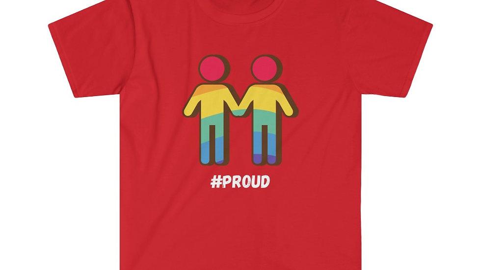 #PROUD COUPLE M Unisex Softstyle T-Shirt (US)