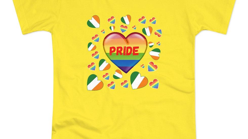PRIDE HEART (IRELAND) Single Jersey Women's T-shirt