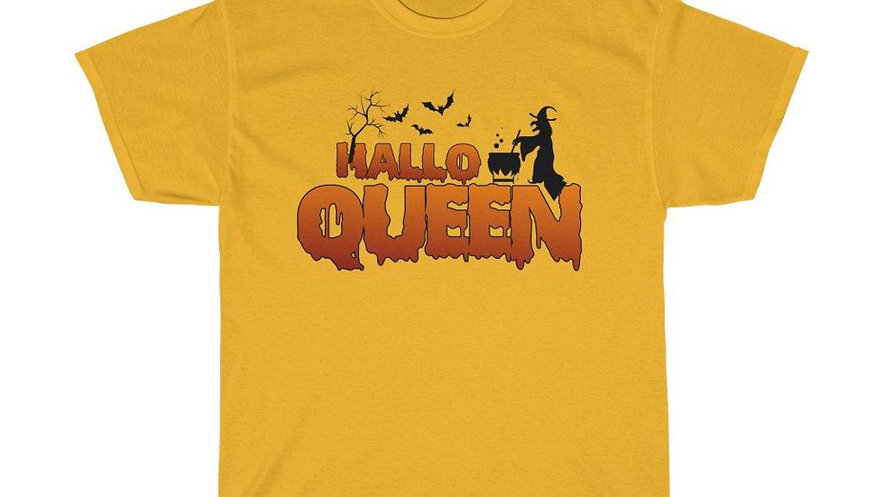 HalloQueen Unisex Heavy Cotton T-Shirt (Version 2)