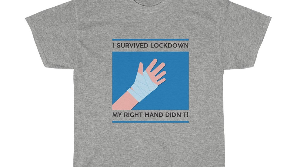 I SURVIVED LOCKDOWN. MY RIGHT HAND DIDN'T! (VERSION 2)