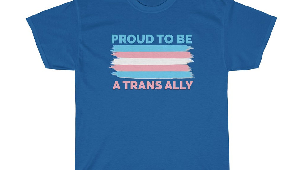 PROUD TO BE A TRANS ALLY (FLAG VERSION) (IRL)
