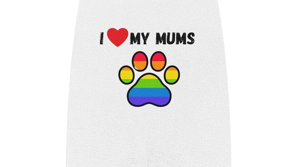 I LOVE MY MUMS Pet Tank Top