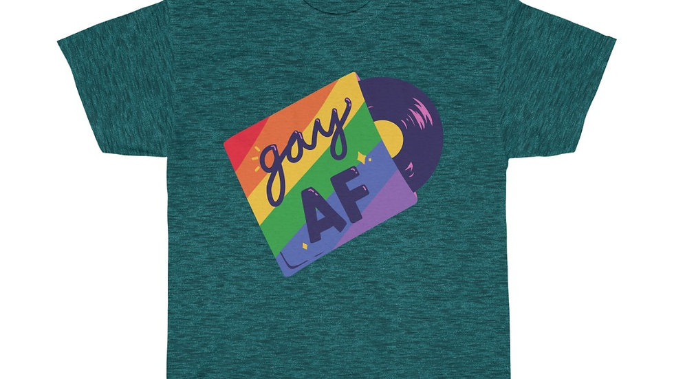 GAY AF Unisex Softstyle T-Shirt (AUS)
