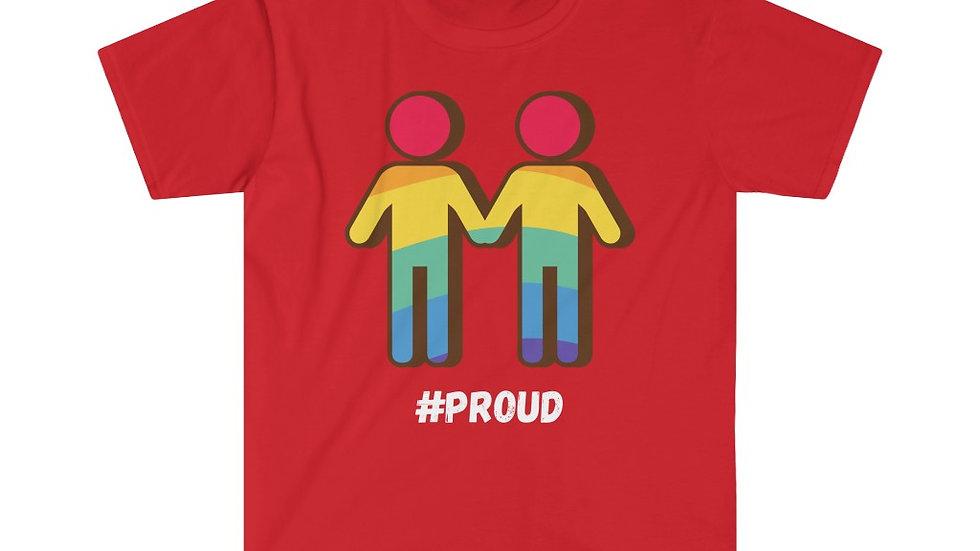 #PROUD COUPLE M Unisex Softstyle T-Shirt