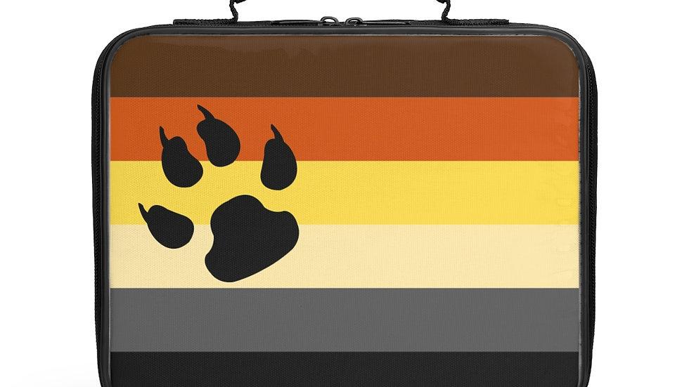 Bear Pride Flag Lunch Box