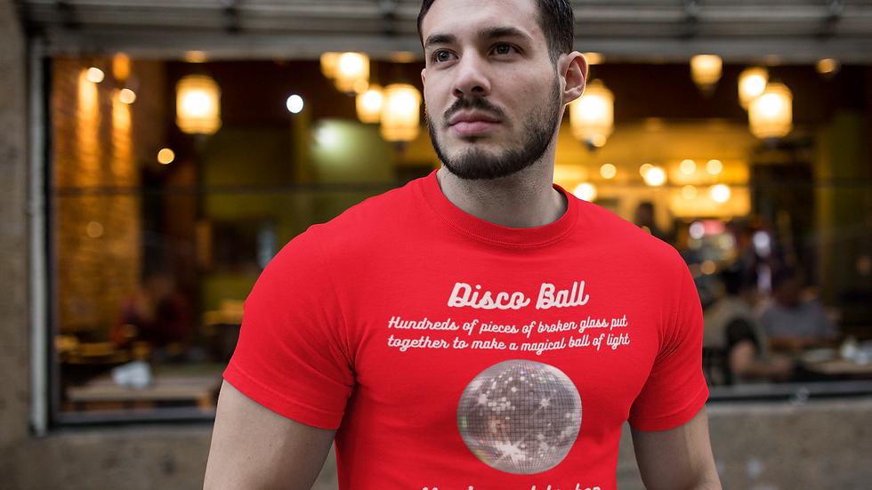 Disco Ball Unisex Softstyle T-Shirt