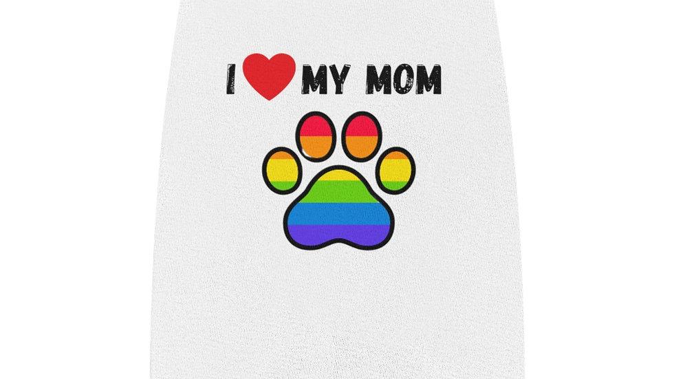 I LOVE MY MOM Pet Tank Top