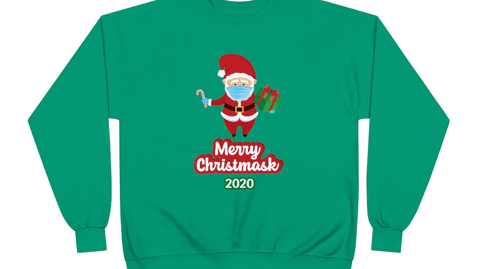 MERRY CHRISTMASK 2020 JUMPER
