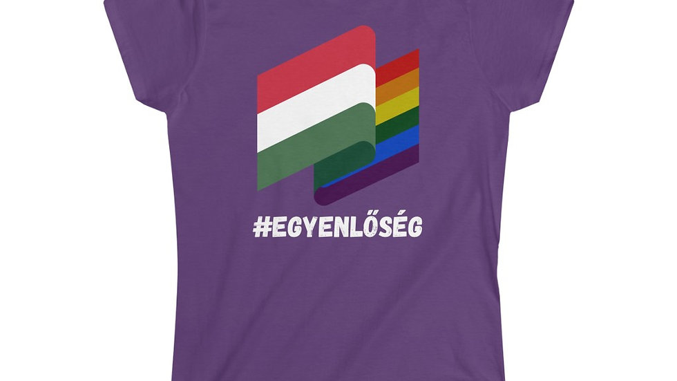 EGYENLŐSÉG FLAGS Female Fit T-Shirt
