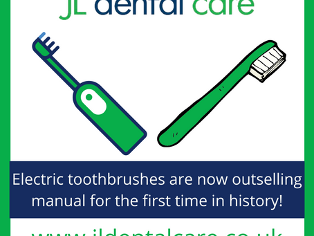 Electric Toothbrushes are on the rise!