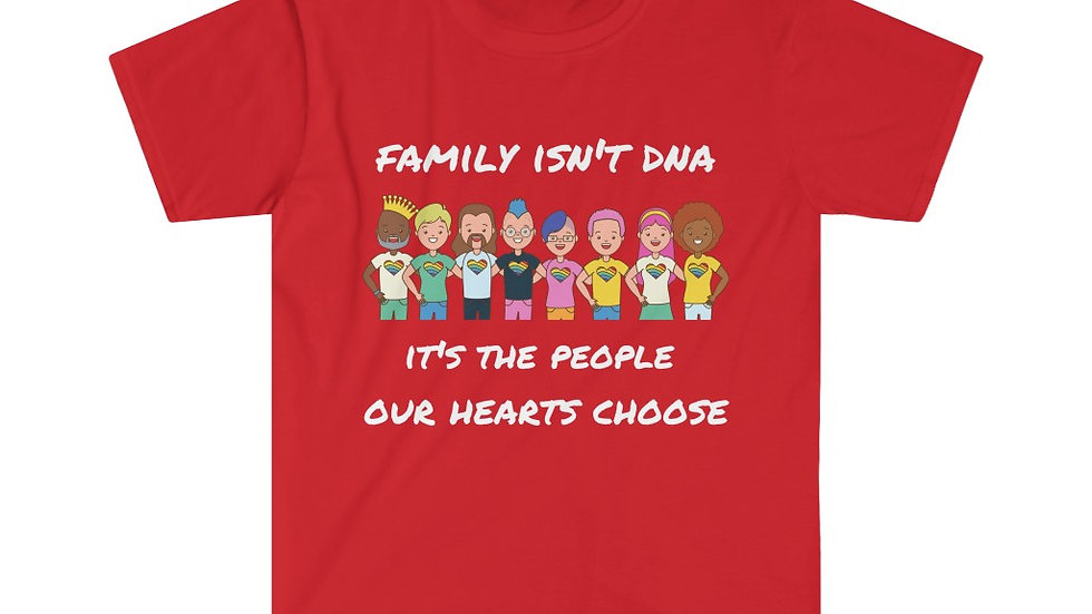 FAMILY ISN'T DNA Unisex Softstyle T-Shirt