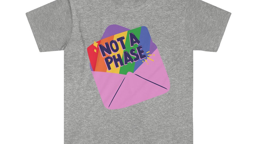 NOT A PHASE Unisex Softstyle T-Shirt