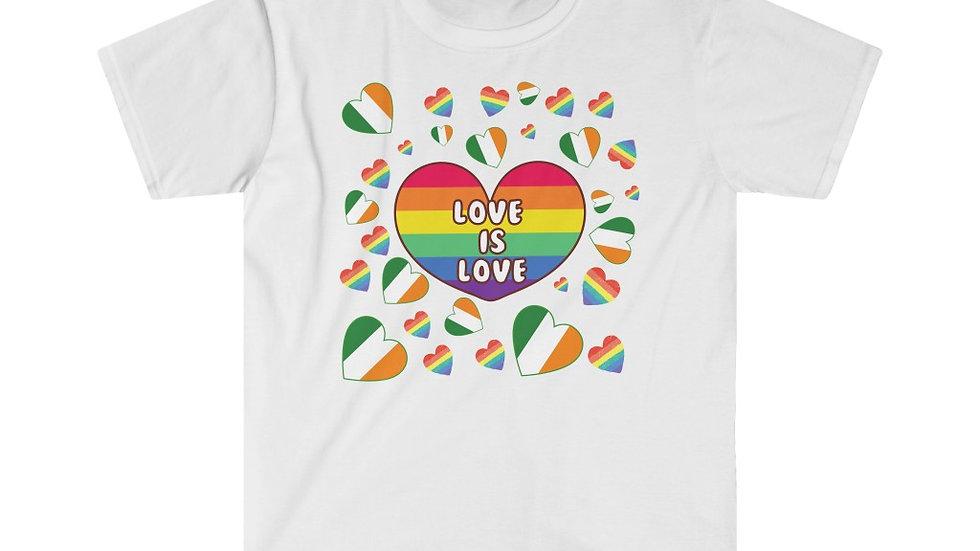 LOVE IS LOVE (IRELAND) Unisex Softstyle T-Shirt
