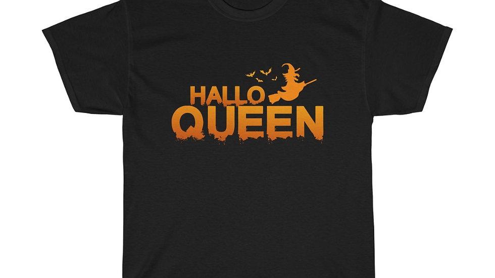 HalloQueen Unisex Heavy Cotton T-Shirt (Version 1)
