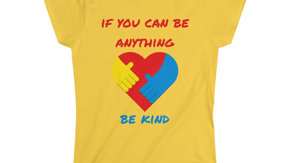 Be Kind Women's Softstyle Tee